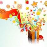 5257077-funky-exploser-cadeau-surprise