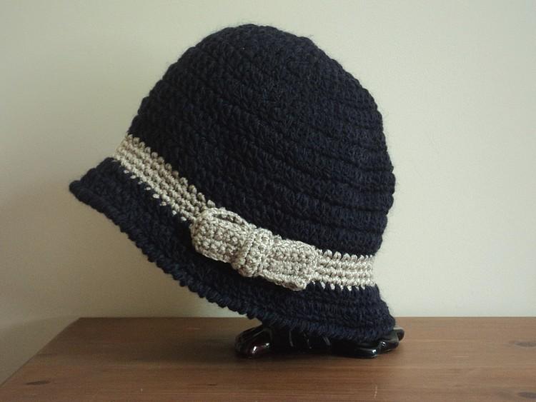 date de sortie plus de photos matériau sélectionné Tuto and co : joli chapeau cloche au crochet! | ♥ Les ...