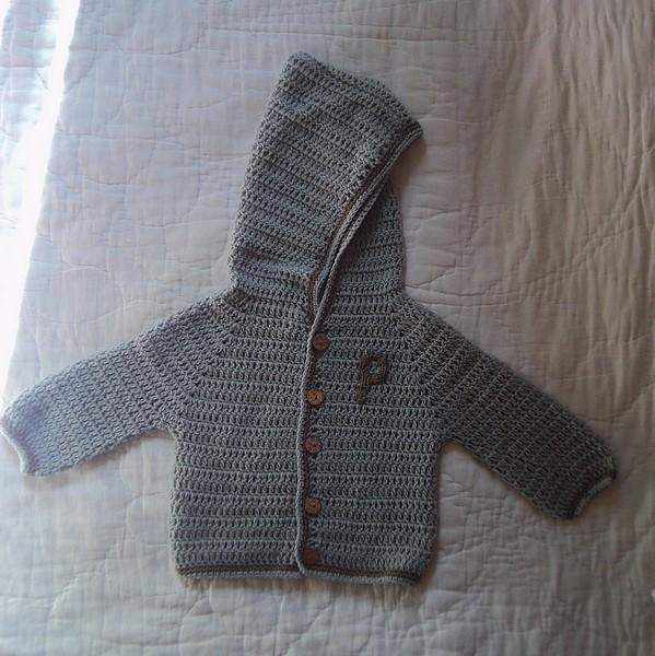 Petite veste bebe tricot