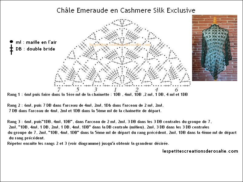 châle emeraude cashmere silk exclusive