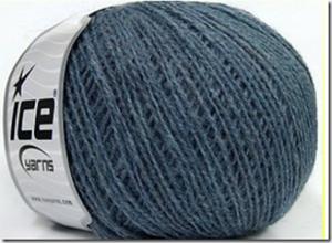 wool fine bleu acier