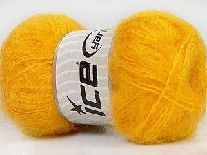 super mohair jaune