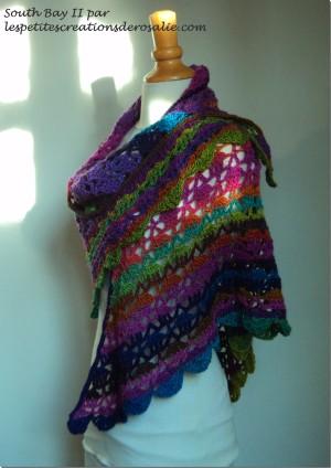 Tuto Nouvelle Version Le Châle South Bay Ii Crochet
