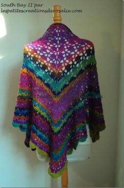 chale crochet modele